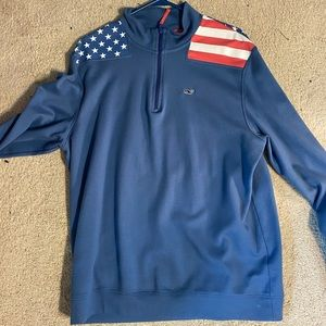 Vineyard Vines USA Quarterzip